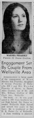 Grafton Pisarsky Engagement - Newspapers.com