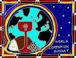 Image result for world communion sunday 2017