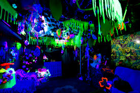 Rainforest Bedroom Use A Black Light For A Glowing The Dark Night Jungle Avatar