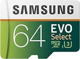 Samsung MicroSDXC EVO Select 64GB