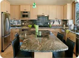 rainforest green marble counter tops