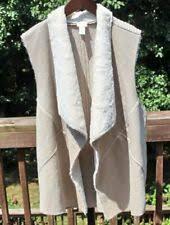 Faux Fur Solid Vest Coats Jackets For Women For Sale Ebay