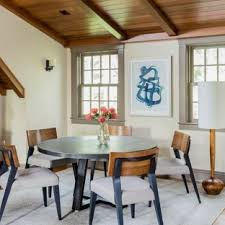 dining room traditional dining room idea in boston with beige walls