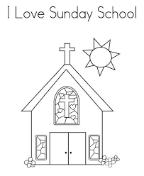 Sunday School Coloring Pages Only Coloring Pages