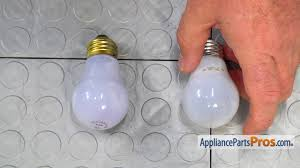 refrigerator light bulb. refrigerator light bulb (part #241555401) - how to replace