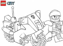 37 Lego Police Coloring Pages Lego Police Officer Coloring Page