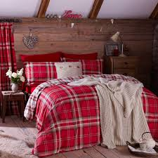 our catherine lansfield kelso red natural single duvet cover set from textile warehouse on trend style inspiration bedding catalogue with offers and