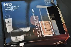make up for ever hd plexion starter kit review source the foundation came as part of the hd plexion starter kit which is just one of