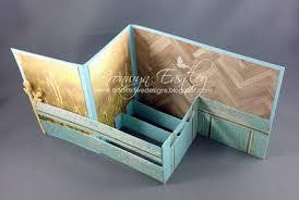 fold card addinktive designs pop up z fold card in a box