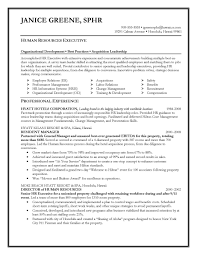 Hr Executive Resume For Manager Sa Peppapp