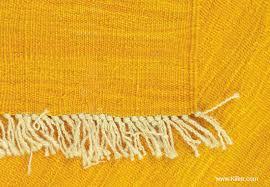 weft faced plainweave rug