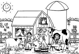 Small Picture Barn Coloring Pages For Toddlers Coloring Pages