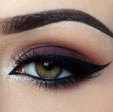 makeup revolution ღ makeup look ft chocolate bar palatte ღ plum eye makeup