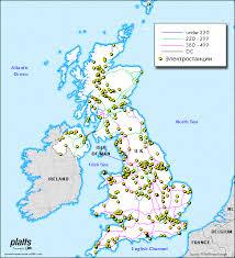 Зарубежная электроэнергетика Ассоциация НП Совет рынка  Карта электросетей