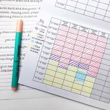 Timetable Creator 12 Revision Timetable Templates That Are Pretty And