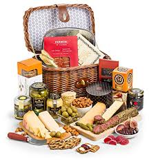gifttree gourmet charcuterie cheese gift her includes four award winning cheeses smoked salmon