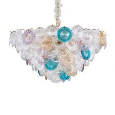 ins modern handmade glass pendant lamp
