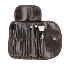 futaba 7 pcs makeup brush set black