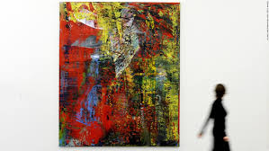 gerhard richter abstraktes bild 1994 oil on canvas realized 34 190 757