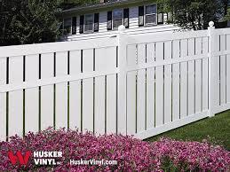 vinyl semi privacy fence. Perfect Vinyl Charlestown Vinyl Fence Charlestown Husker Vinylu0027s Semi Privacy  In Semi Fence