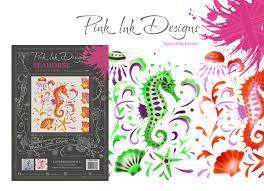 Pink Ink Designs Stencils Seahorse Stencil