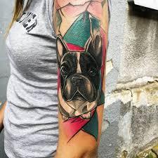 Hafany Mě Prostě Baví Tetovat Dog Tattoo Pes