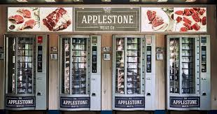 Name A Food You Never See In A Vending Machine Delectable Applestone Meat Company 4848 Vending Machines InsideHook
