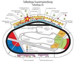 Talladega Tri Oval Tower Seating Chart 24 Abundant Darlington Speedway Seating Chart