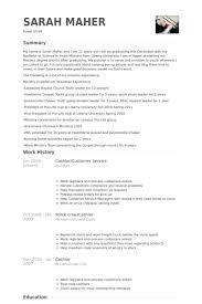 Cashier/Customer Service Resume samples