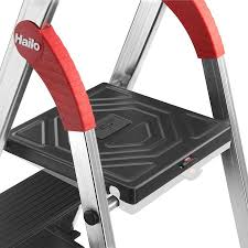 Hailo L100 pro 73.6-ft Aluminum Type 2 - 225 lbs. Capacity Platform ...