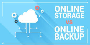 Cloud Storage Vs Online Backup Whats The Difference