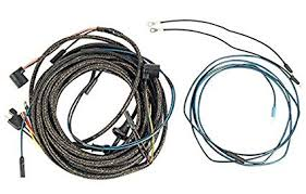 amazon com 1966 ford mustang taillight wiring harness w boots image unavailable image not available for color 1966 ford mustang taillight wiring harness