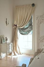 Shabby chic curtains - So dramatic!