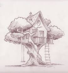 how to draw a treehouse step by step. Wonderful Draw Treehouse Drawings  Google Search Intended How To Draw A Treehouse Step By