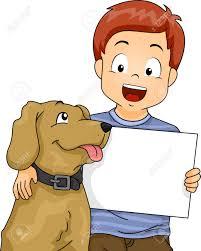 Картинки по запросу собака и ребенок картинка клип арт