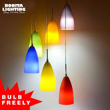 image of colorful pendant lighting lamp holder nordic wood hanging lights lamparas colorful aluminum pendant
