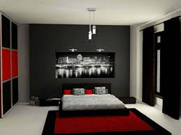 black and red bedroom. Bedroom Unique And Attractive Black Red Ideas For Pertaining To Grey \u2013 Interior Paint Color Schemes M