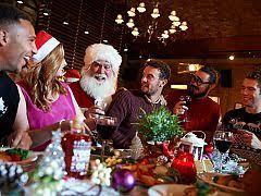 A Shared Christmas Buffet in Edinburgh