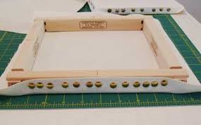 evere stretcher bar frames for hand embroidery