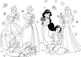 Ariel Princess Coloring Pages Printable Printable Coloring Pages