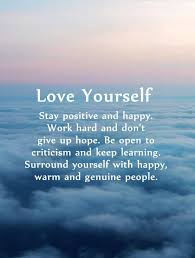 Stay Yourself Quotes Best Of 24 Positive Quotes Why First Love Yourself Should Awesome Dreams