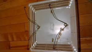 bathroom exhaust fan s cover will not