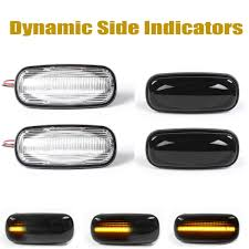 Land Rover Defender Red Warning Light New Flowing Side Marker Lamp Dynamic Led Side Repeater