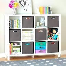 White Childrens Sling Bookcase White Sling Bookshelf Canada Sling Bookcase  With Storage Bins Uk Cubic Bookcase White 12 Cube Bookshelf With Storage Box  Kids ...