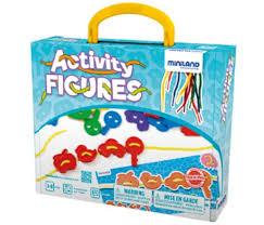 Развивающая игрушка <b>Miniland Обучающий набор</b> со шнуровкой ...