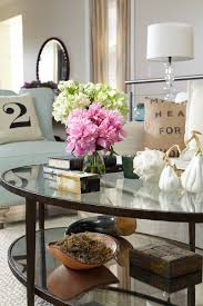 glass coffee table decor for adorable coffee table design ideas