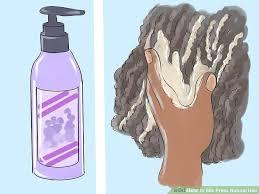 image titled silk press natural hair step 3