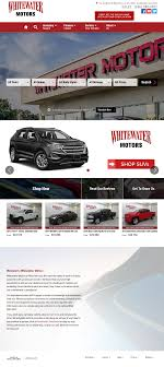 whitewater motors history