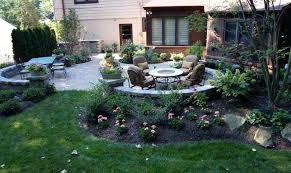 office landscaping ideas. Office Landscaping Ideas Wonderful Around Patio Party In The Back 4 Backyard And Tips Kg Building I