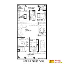 house plan of 30 feet by 60 feet plot 1800 squre feet built area on 200 yards plot